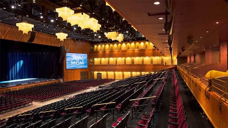 mgm national harbor theater