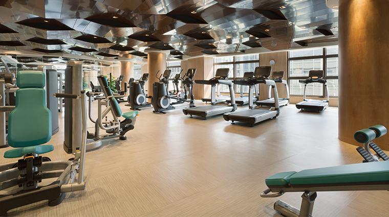 midtown shangri la hangzhou fitness center