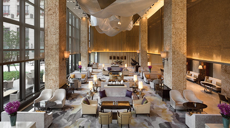 midtown shangri la hangzhou lobby lounge