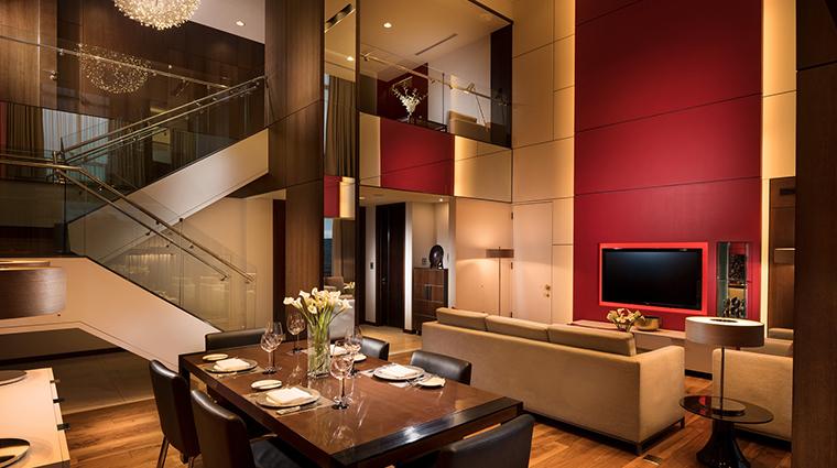 millennium hilton seoul Parkhill Suite Living Room