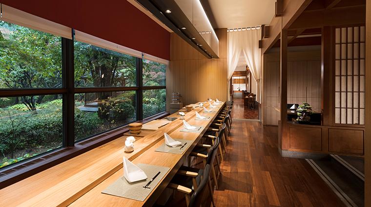 millennium hilton seoul genji sushi bar