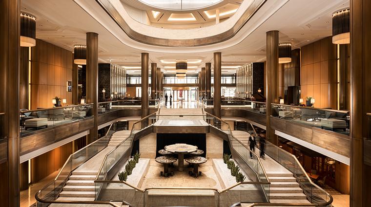 millennium hilton seoul lobby