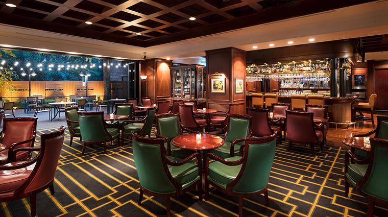 millennium hilton seoul oak room bar