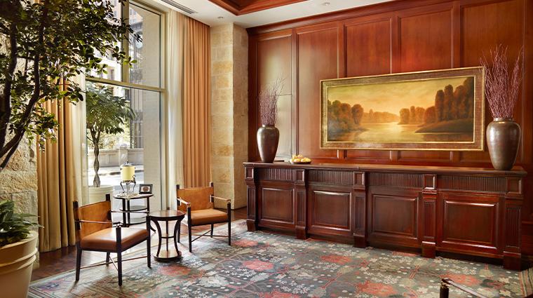 mokara hotel spa lobby reception