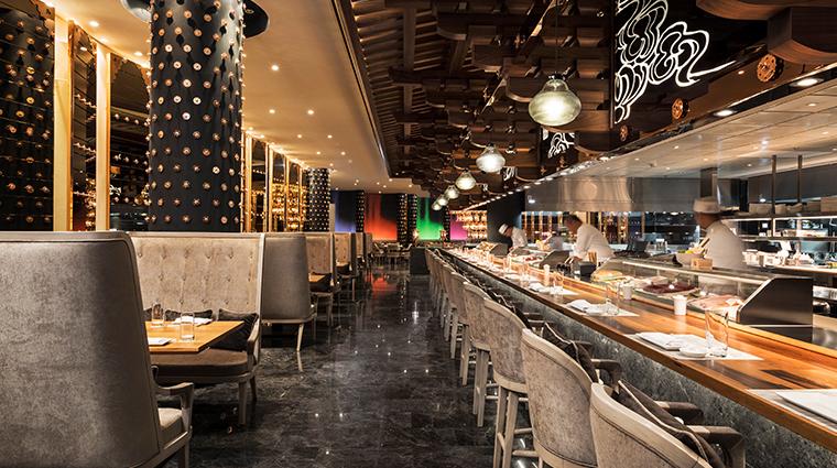 mondrian doha Morimoto sushi bar