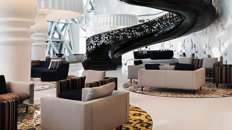 mondrian doha lobby lounge