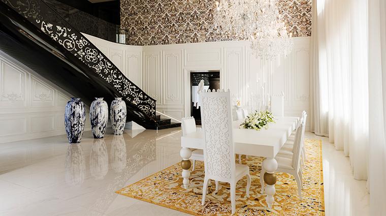 mondrian doha penthouse dining