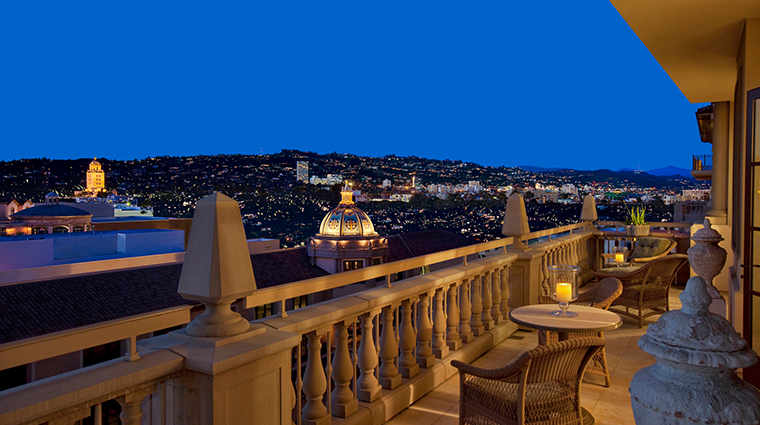 montage beverly hills rooftop view