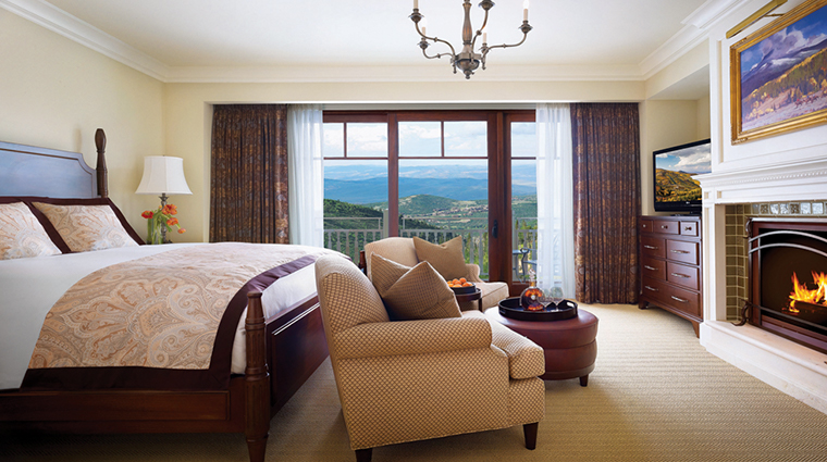 montage deer valley king guestroom
