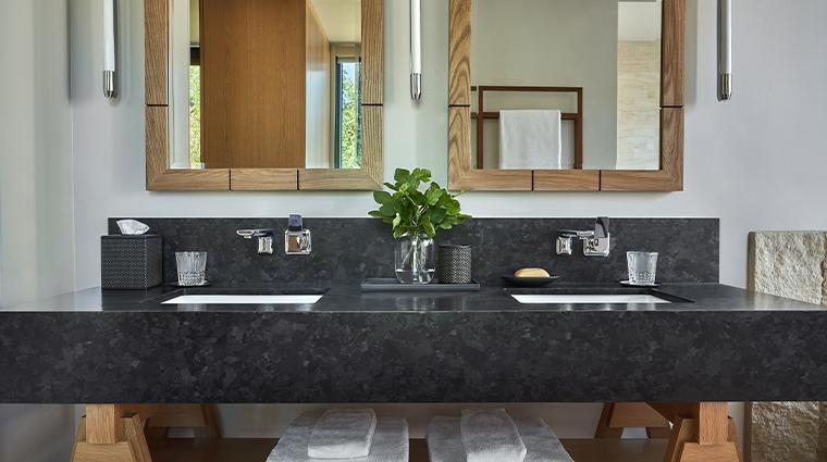 montage healdsburg guestroom bathroom sink
