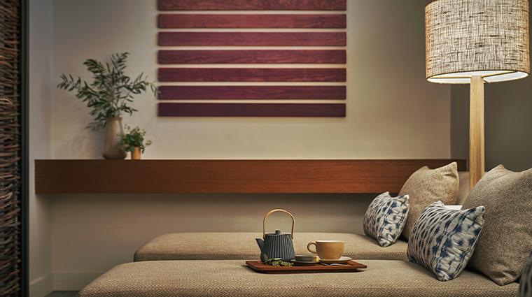montage healdsburg spa womens relaxation room