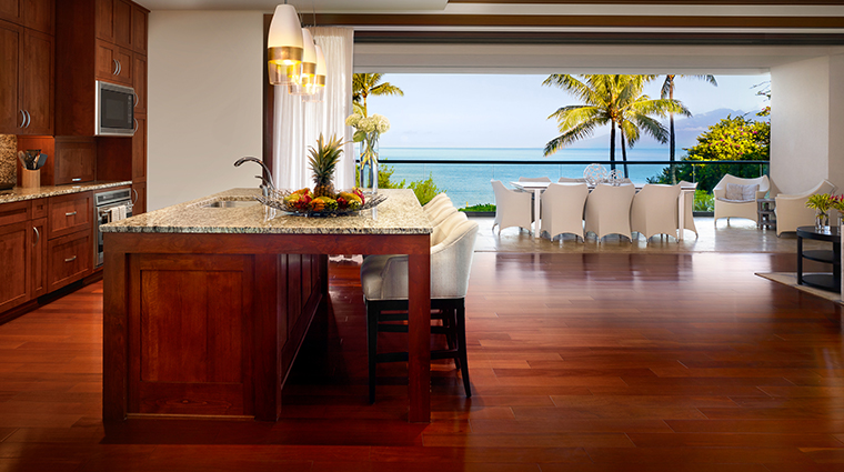 montage kapalua bay grand residence kitchen