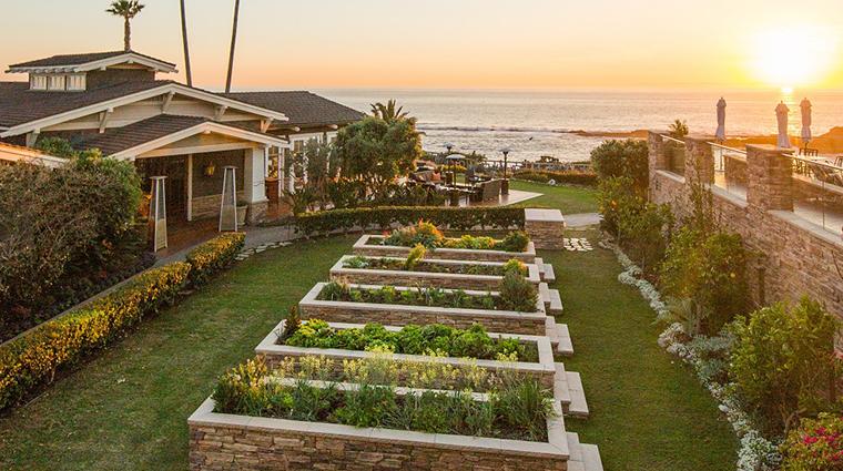 montage laguna beach garden