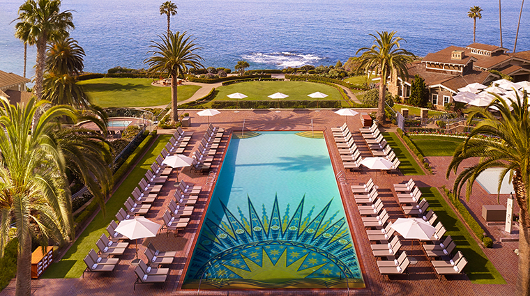 montage laguna beach pool wide