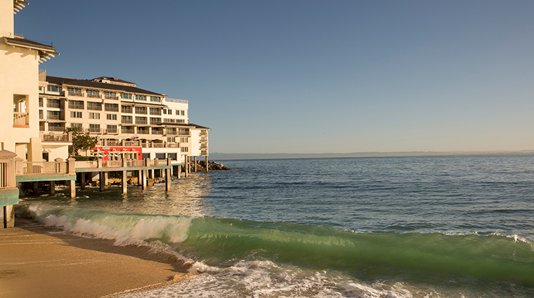 monterey plaza hotel spa back exterior view