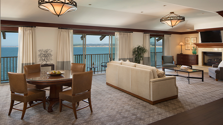 monterey plaza hotel spa new grand bay suite living room