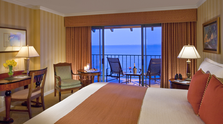 monterey plaza hotel spa ocean view king balcony