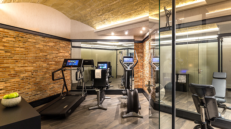 monument hotel fitness room
