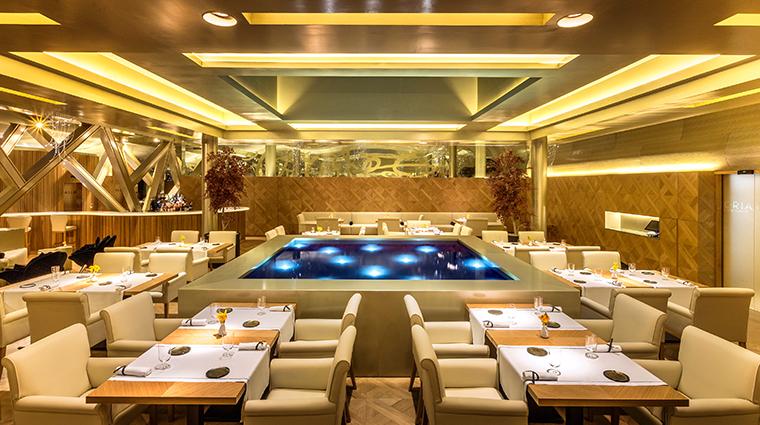 monument hotel oria dining