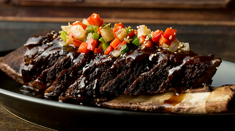 mott 32 Crispy Triple Cooked Australian Black Angus Beef Short Rib