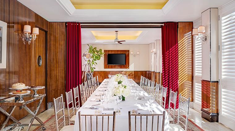 mr c beverly hills restaurant private dining