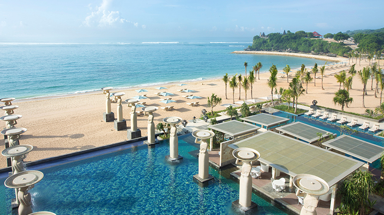 mulia spa at the mulia nusa dua bali pool and beach