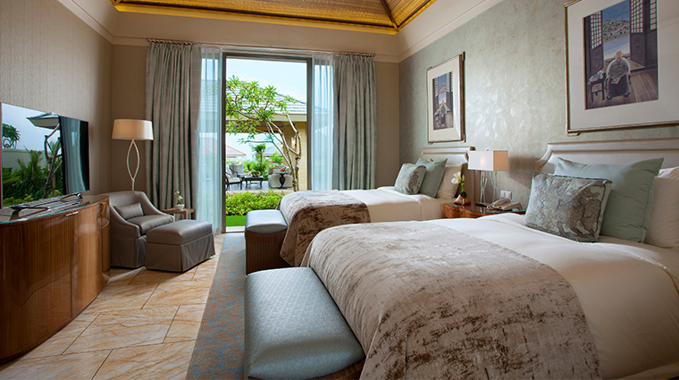 mulia villas nusa dua bali family villa bedroom