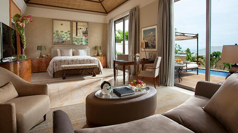 mulia villas nusa dua bali family villa master