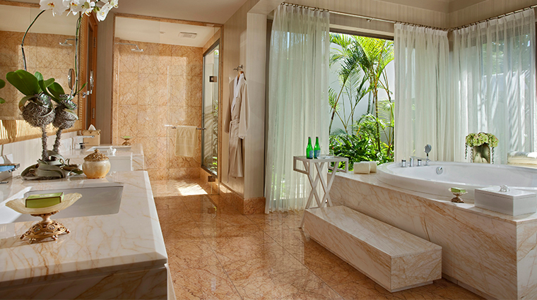 mulia villas nusa dua bali one bedroom bathroom