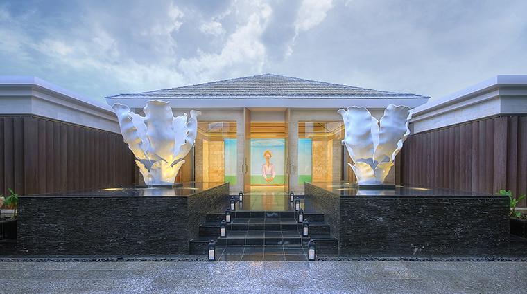 mulia villas nusa dua bali spa entrance