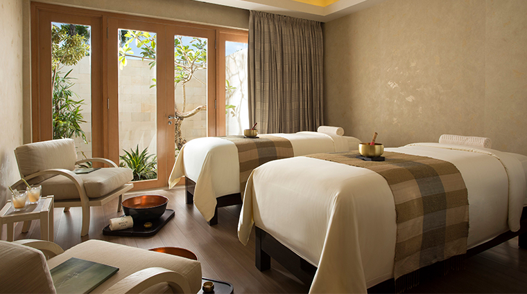 mulia villas nusa dua bali spa treatment room