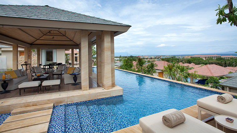 mulia villas nusa dua bali two bedroom pool