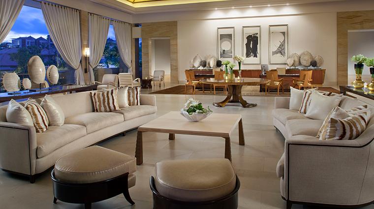mulia villas nusa dua bali villa reception
