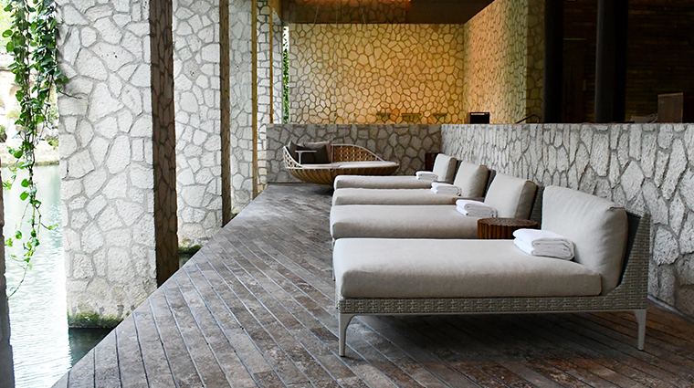 muluk spa relaxation area