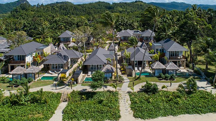 nanuku auberge resorts collection auberge beach villas aerial