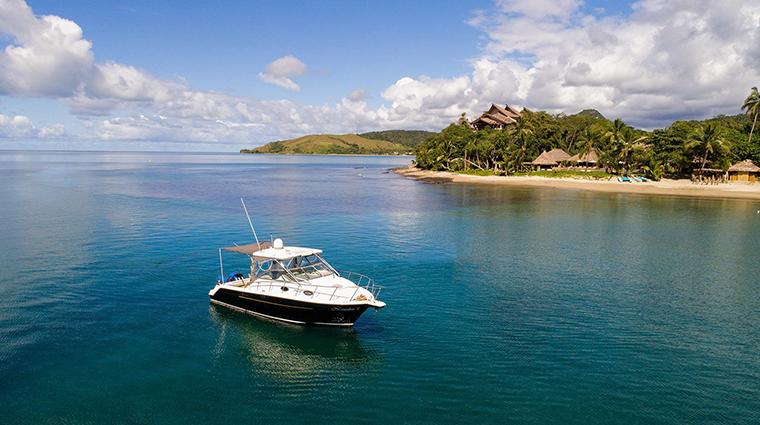 nanuku auberge resorts collection boat