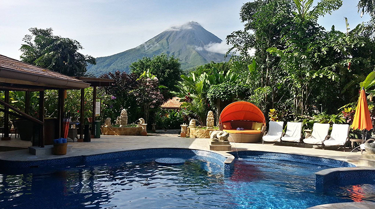nayara hotel spa gardens kali kali pool volcanoe view
