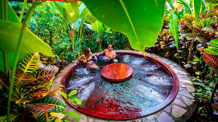 nayara hotel spa gardens outdoor jacuzzi