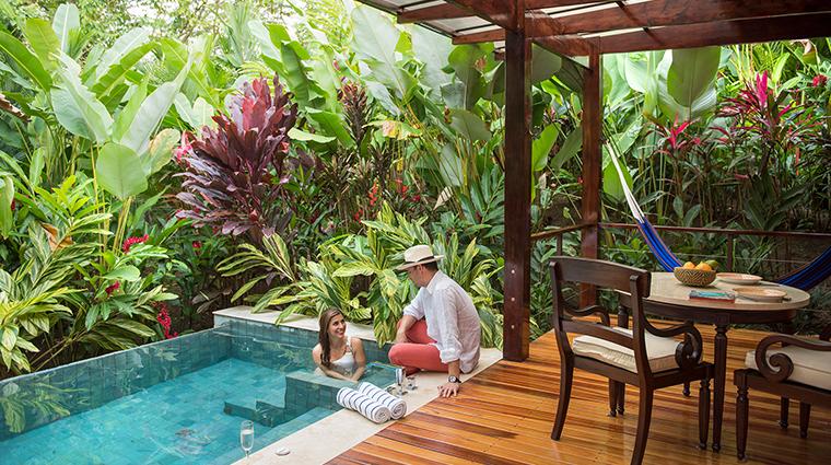 nayara springs villa plunge pool