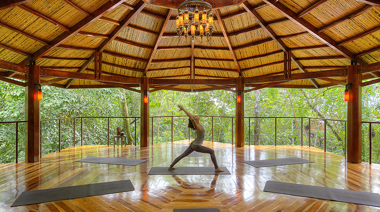 nayara springs yoga pavillion