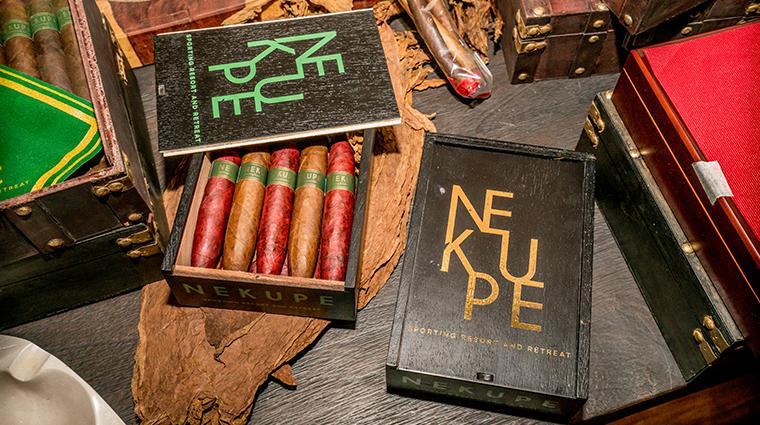 nekupe sporting resort and retreat cigar tasting