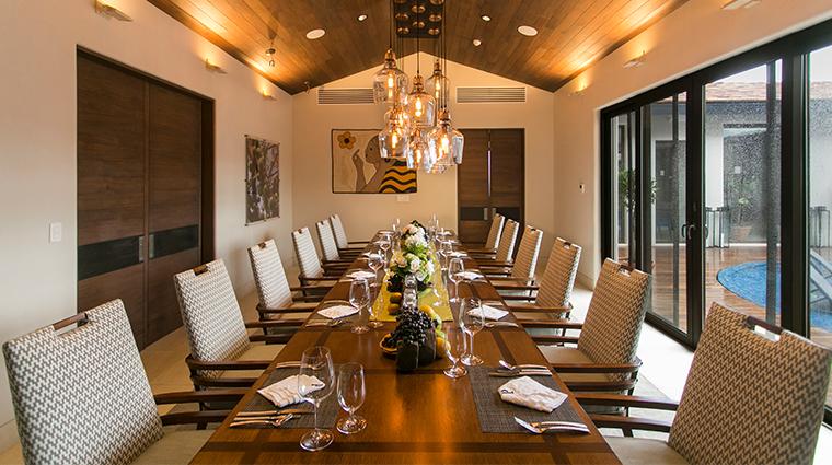 nekupe sporting resort and retreat la residencia de dona teresita dining