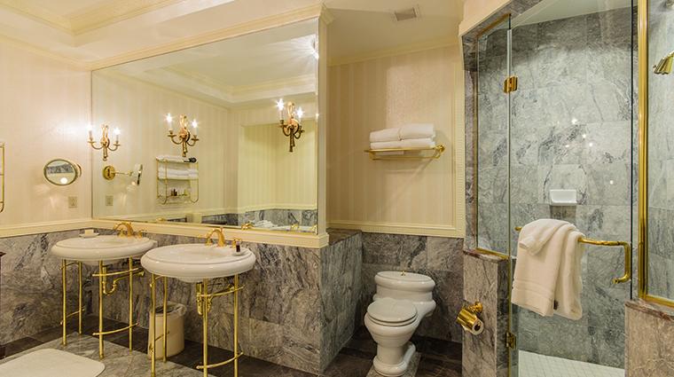 nemacolin woodlands resort chateau lafayette chateau club suite bathroom