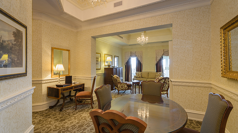 nemacolin woodlands resort chateau lafayette chateau club suite dining room