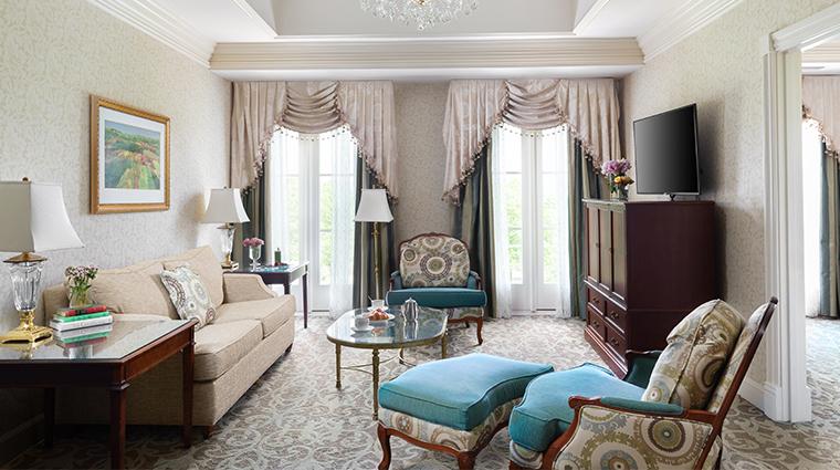 nemacolin woodlands resort chateau lafayette living room