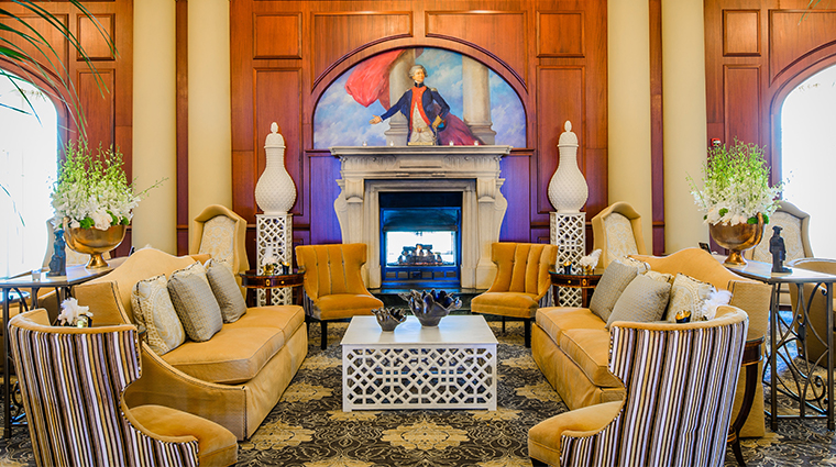 nemacolin woodlands resort chateau lafayette lobby