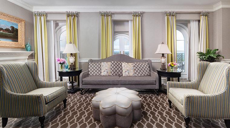 nemacolin woodlands resort chateau lafayette presidential suite living room