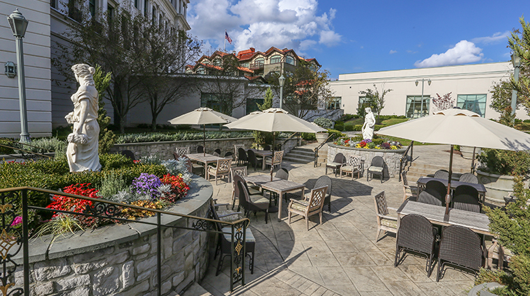 nemacolin woodlands resort chateau lafayette terrace