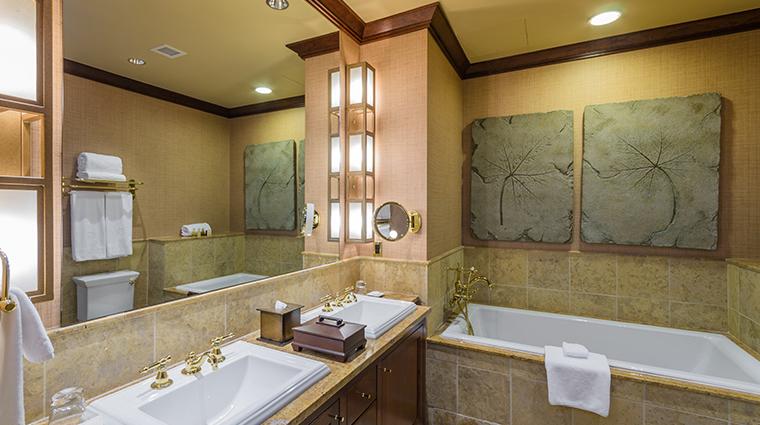 nemacolin woodlands resort falling rock guest bathroom