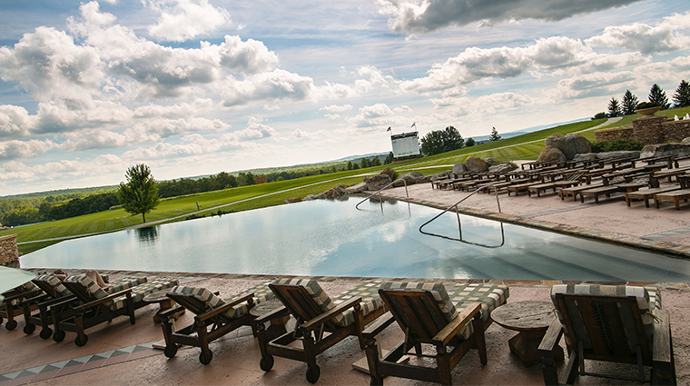 nemacolin woodlands resort falling rock infinity pool